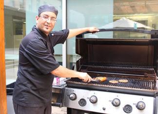 Chef Mo au BBQ