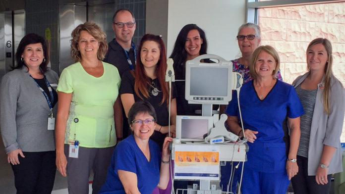 Groupe d'infirmières formant l'équipe PICC à Montfort.
