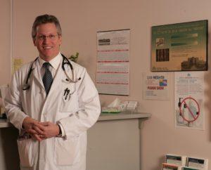 Dr Bernard Leduc à l'unité de médecine familiale de Montfort
