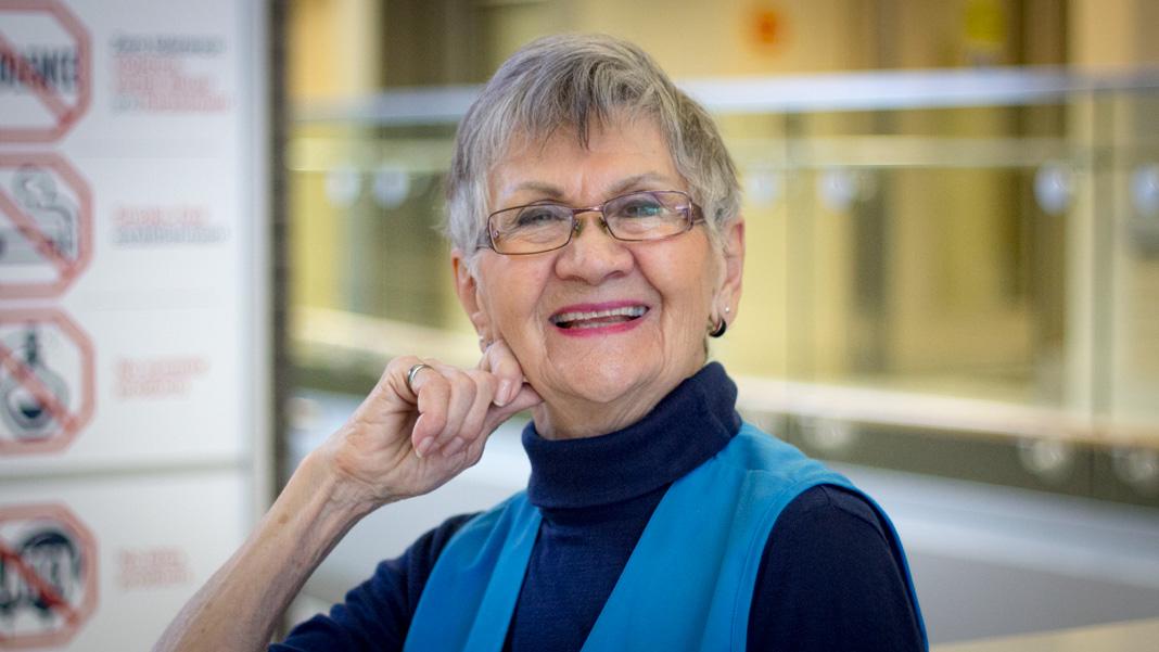 Lise Clément, bénévole à Montfort depuis 25 ans