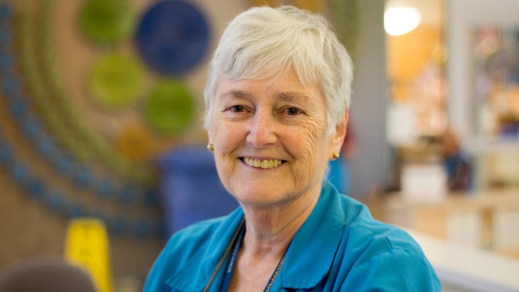 Lise Gascon, bénévole à Montfort depuis 20 ans