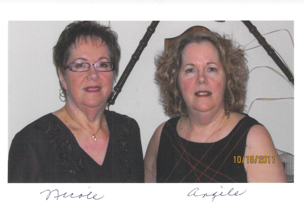 Nicole Joly et Angèle Robillard