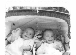 Nicole Joly et Angèle Robillard, première jumelles nées à Montfort