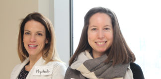 Mychèle Sabourin et Michelle Dupuis-L'Heureux