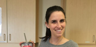 Andréanne, gagnante du prix de participation aux activités d'Agrément