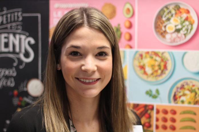 Mégane Campeau, diététiste à Montfort