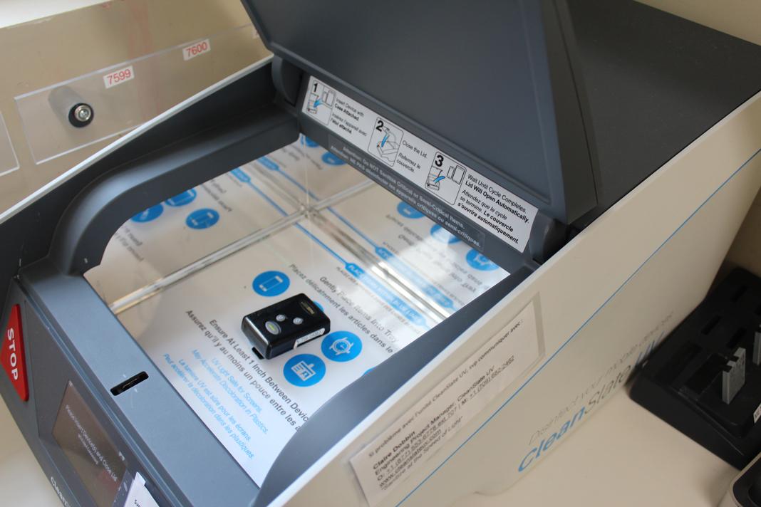 La machine à rayons UV