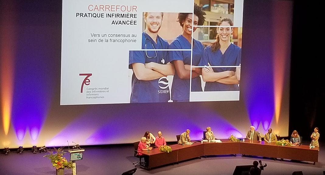 Salle de conférence du Congrès mondial du SIDIIEF à Bordeaux