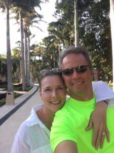 Guy Moreau et son épouse Mona