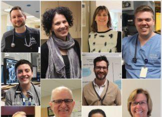 PLusieurs médecins de l'hôpital